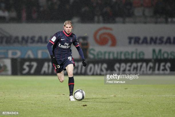 Christophe JALLET Nancy / Paris 24e journee Ligue 1 Stade Marcel Picot