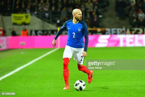 Christophe Jallet of France during the international friendly match between Germany and France at RheinEnergieStadion on November 14 2017 in Cologne...