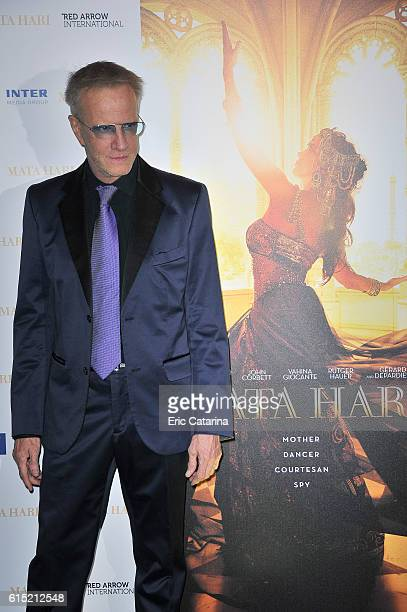Christophe Lambert attends the Mata Hari photocall at the Majestic Hotel on October 16 2016 in Cannes France