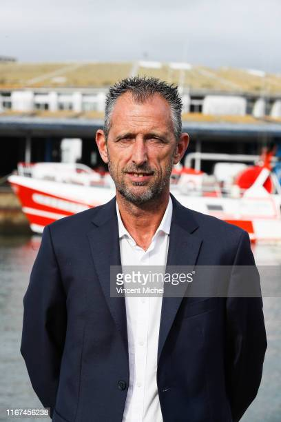 Christophe LE ROUX Sport director of Lorient during the photo shooting of Lorient for new season 2019/2020 on September 11 2019 in Lorient France