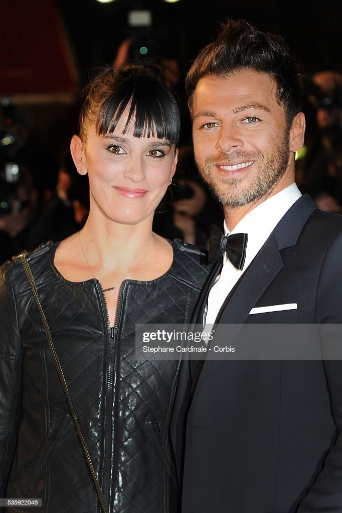 Christophe Mae (R) and Nadege Sarron attend the NRJ Music Awards 2011 at the 'Palais des Festivals et des Congres' in Cannes.