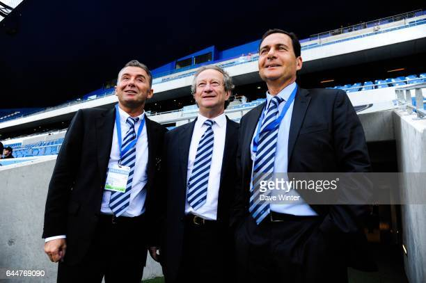Christophe MAILLOL / Jean Pierre LOUVEL / Eric BESSON Le Havre / Creteil 5e journee Ligue 2 Photo Dave Winter / Icon Sport