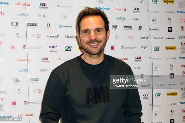 Christophe Michalak French Pastry Chef attends the Le temps Presse Festival Closing Ceremony photocall At UGC LyonBastille In Paris on January 24...