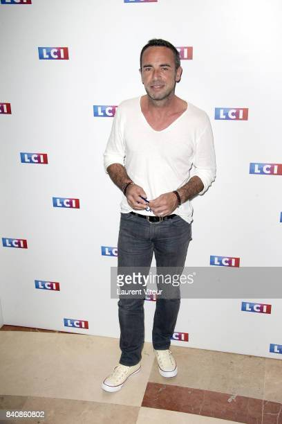 Christophe Moulin attends LCI Press Conference on August 30 2017 in Paris France