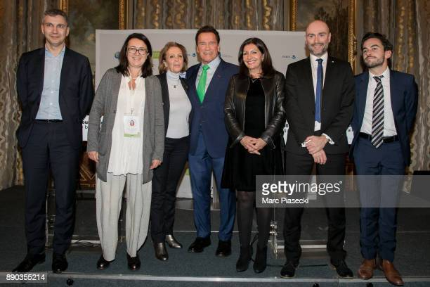 Christophe Najdovski Monika Langthaler Michele Sabban former Governor of the US State of California Arnold Schwarzenegger Mayor of the city of Paris...