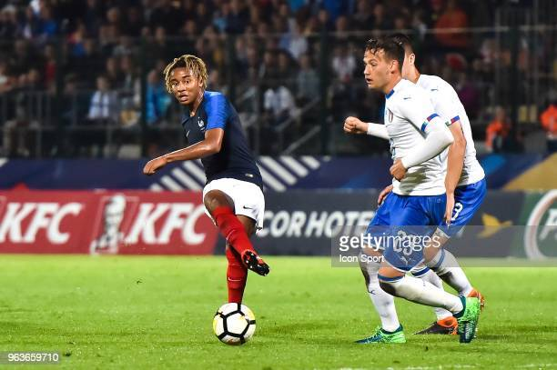 Christophe Nkunku of France during the U21 International Friendly match between France and Italy on May 29, 2018 in Besancon, France.