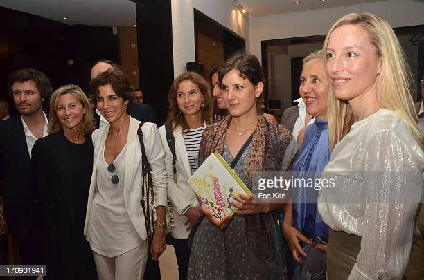 Christophe Ono Dit Bio Claire Chazal Christine Orban LiseCharles a guest and Adelaide de Clermont Tonnerre attend the 'Montalembert Literary Awards...