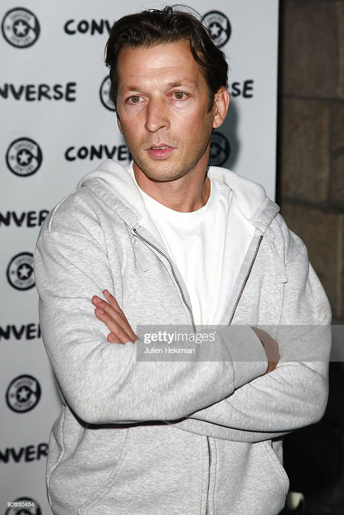 Christophe Rocancourt attends the 100 Years of Converse Celebration at Showcase on September 4, 2008 in Paris, France.