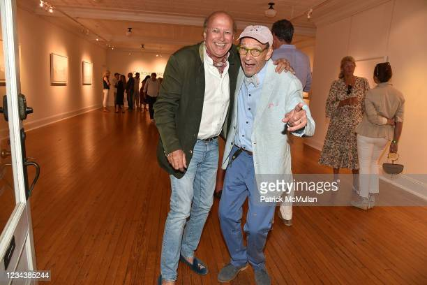 """Christophe von Hohenberg and Bruce Helander attend the release of Christophe von Hohenberg's new book """"The White Album of The Hamptons"""" and Bruce..."""
