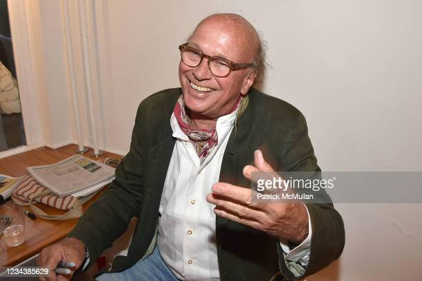 """Christophe von Hohenberg attends the release of Christophe von Hohenberg's new book """"The White Album of The Hamptons"""" and Bruce Helander's """"Collages..."""