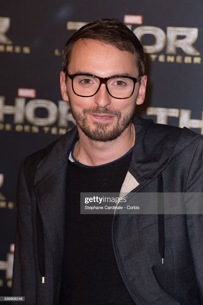 Christophe Willem attends 'Thor: The Dark World' Premiere at Le Grand Rex Cinema, in Paris.