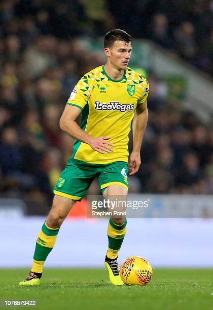 Christophe Zimmermann of Norwich City during the Sky Bet Championship match between Norwich City and Rotherham United at Carrow Road on December 01...