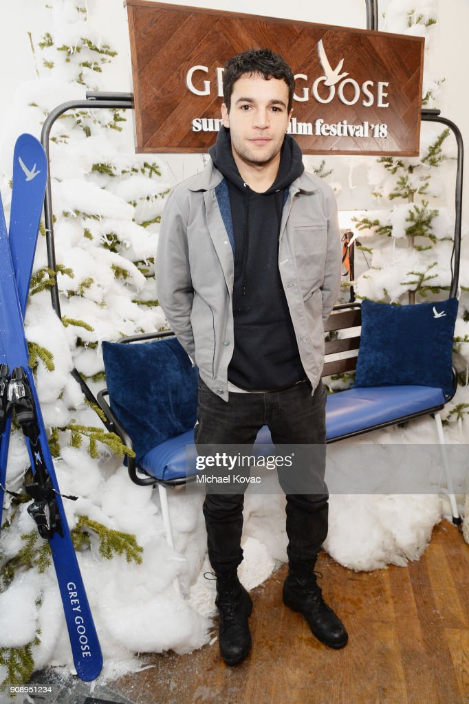 Christopher Abbott attends as Grey Goose Blue Door hosts the casts of game-changing films during the Sundance Film Festival at The Grey Goose Blue Door on January 22, 2018 in Park City, Utah.