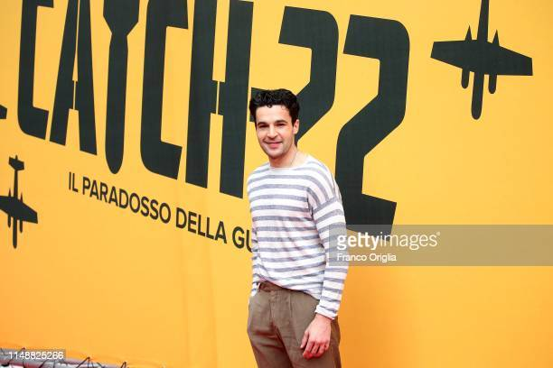 Christopher Abbott attends 'Catch-22' Photocall, a Sky production, at The Space Moderno Cinema on May 13, 2019 in Rome, Italy.
