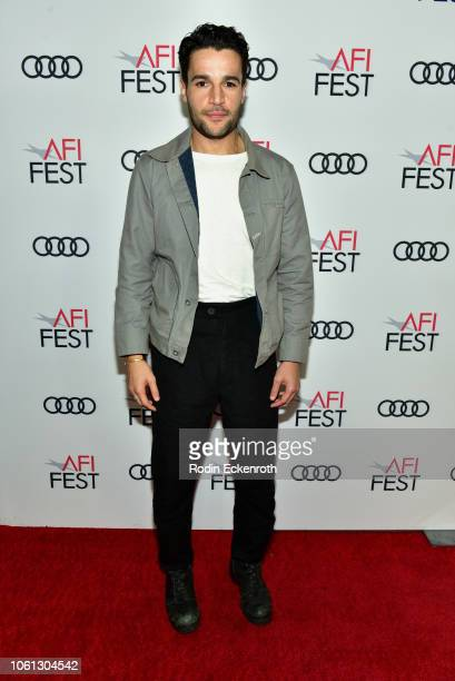 Christopher Abbott attends Fest Filmmaker Photo Call during AFI FEST 2018 presented by Audi at TCL Chinese 6 Theatres on November 13 2018 in...