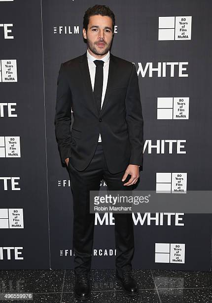 Christopher Abbott attends opening night of MOMA's Eighth Annual Contenders featuring The Film Arcade's JAMES WHITE on November 10 2015 in New York...