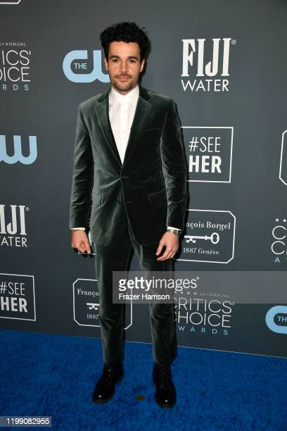 Christopher Abbott attends the 25th Annual Critics' Choice Awards at Barker Hangar on January 12, 2020 in Santa Monica, California.