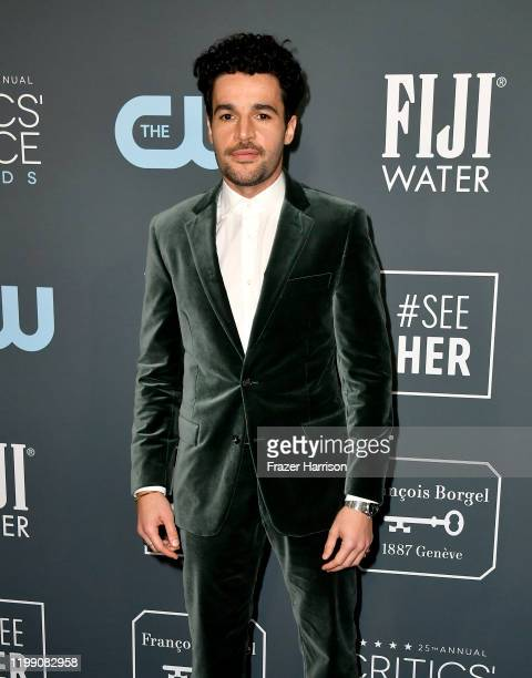 Christopher Abbott attends the 25th Annual Critics' Choice Awards at Barker Hangar on January 12 2020 in Santa Monica California