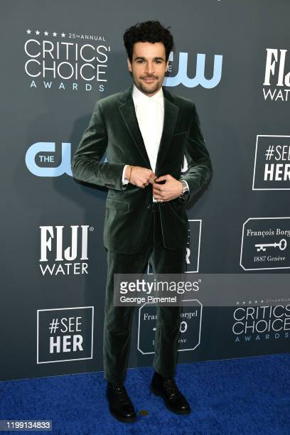 Christopher Abbott attends the 25th Annual Critics' Choice Awards held at Barker Hangar on January 12 2020 in Santa Monica California
