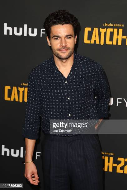 Christopher Abbott attends the FYC Red Carpet For Hulu's Catch22 at Saban Media Center on May 08 2019 in North Hollywood California