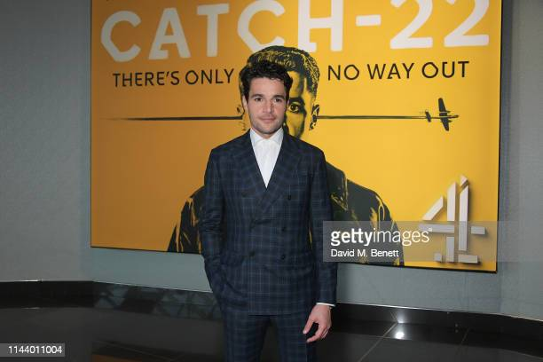 """Christopher Abbott attends the London Premiere of new Channel 4 show """"Catch-22"""", based on Joseph Heller's novel of the same name, at Vue Westfield on..."""