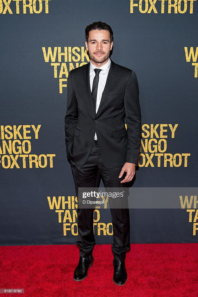 Christopher Abbott attends the 'Whiskey Tango Foxtrot' world premiere at AMC Loews Lincoln Square 13 theater on March 1, 2016 in New York City.