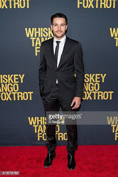 Christopher Abbott attends the Whiskey Tango Foxtrot world premiere at AMC Loews Lincoln Square 13 theater on March 1 2016 in New York City