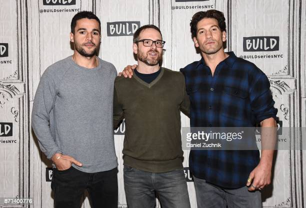 Christopher Abbott Jamie M Dagg and Jon Bernthal attend the Build Series to discuss the new film 'Sweet Virginia' at Build Studio on November 7 2017...