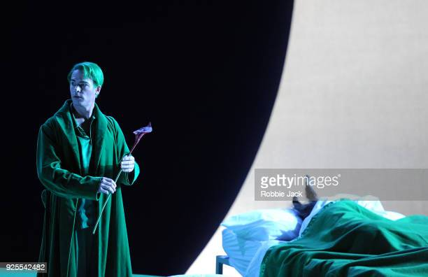 Christopher Ainslie as Oberon in English National Opera's Production Of Benjamin Britten's A Midsummer Night's Dream directed by Robert Carsen and...