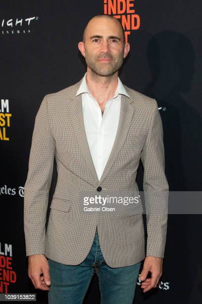 Christopher Amitrano arrives for the screening of 'Galveston' during the 2018 LA Film Festival at ArcLight Culver City on September 23 2018 in Culver...