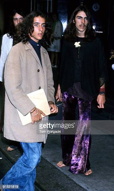 Christopher and Michael Wilding sons of Elizabeth Taylor and actor Michael Wilding at the Dorchester hotel