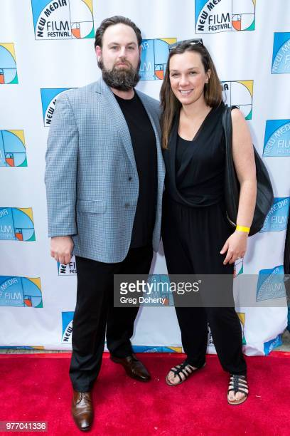 Christopher and Stephanie Ruane attend the 9th Annual New Media Film Festival at James Bridges Theater on June 16 2018 in Los Angeles California