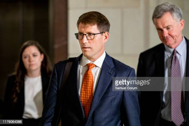 Christopher Anderson career Foreign Service officer and former adviser to Kurt Volker the US special envoy to Ukraine arrives at the Sensitive...