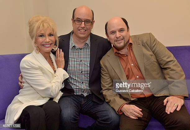 Christopher AshleyPamela Shaw and Jason Alexander attend 'Lucky Stiff' opening at the 29th Annual Fort Lauderdale Film Festival at Amaturo Theater on...