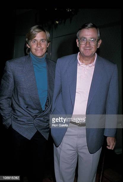 Christopher Atkins and Father Don Bomann during Lorna Luft Opens a Singing Engagement October 3 1989 at Hollywood Roosevelt Cinegrill in Hollywood...