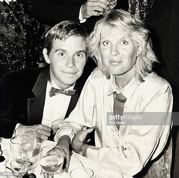 Christopher Atkins and Lyn Barron during First Annual Committment to Life Gala Benefiting AIDS Project at Bonaventure Hotel in Los Angeles California...