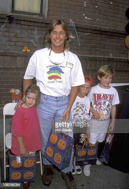 Christopher Atkins, Daughter Brittney Bomann, and Son Grant Bomann