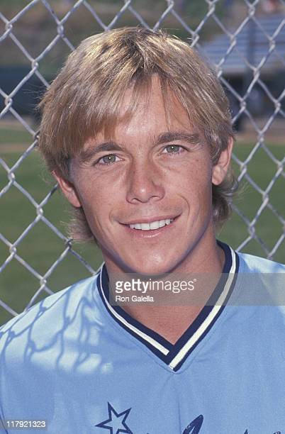 Christopher Atkins during 4th Annual Celebrity Softball Game at Pepperdine University in Malibu California United States