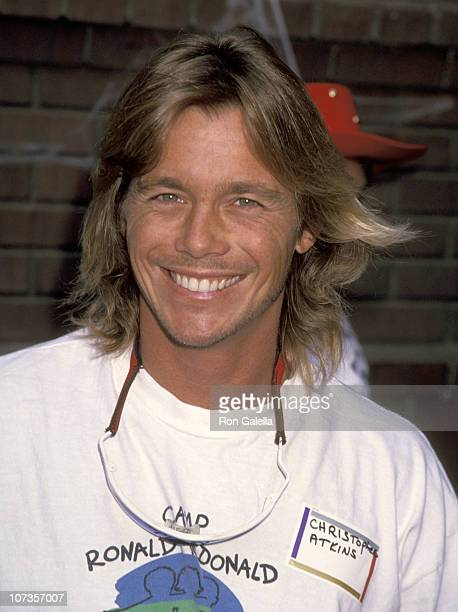 Christopher Atkins during Benefit for Camp Ronald McDonald October 31 1993 at Walt Disney Studios in Burbank California United States