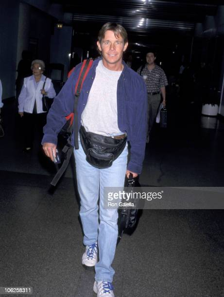 Christopher Atkins during Christopher Atkins Sighting at Los Angeles International Airport May 22 1999 at Los Angeles International Airport in Los...