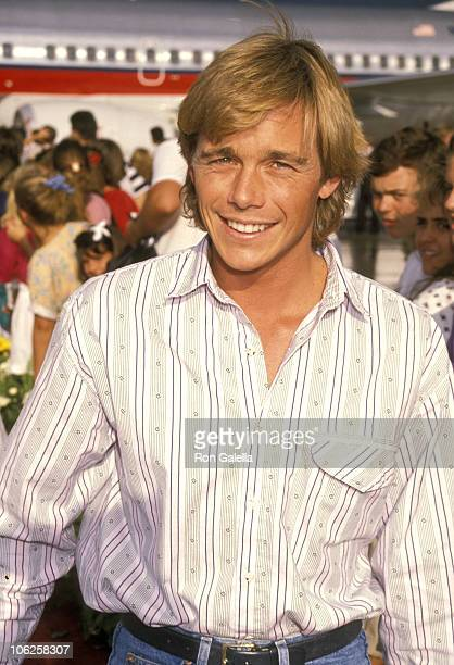 Christopher Atkins during Christopher Atkins Sighting at Orlando Airport June 05 1990 at Orlando Airport in Orlando Florida United States
