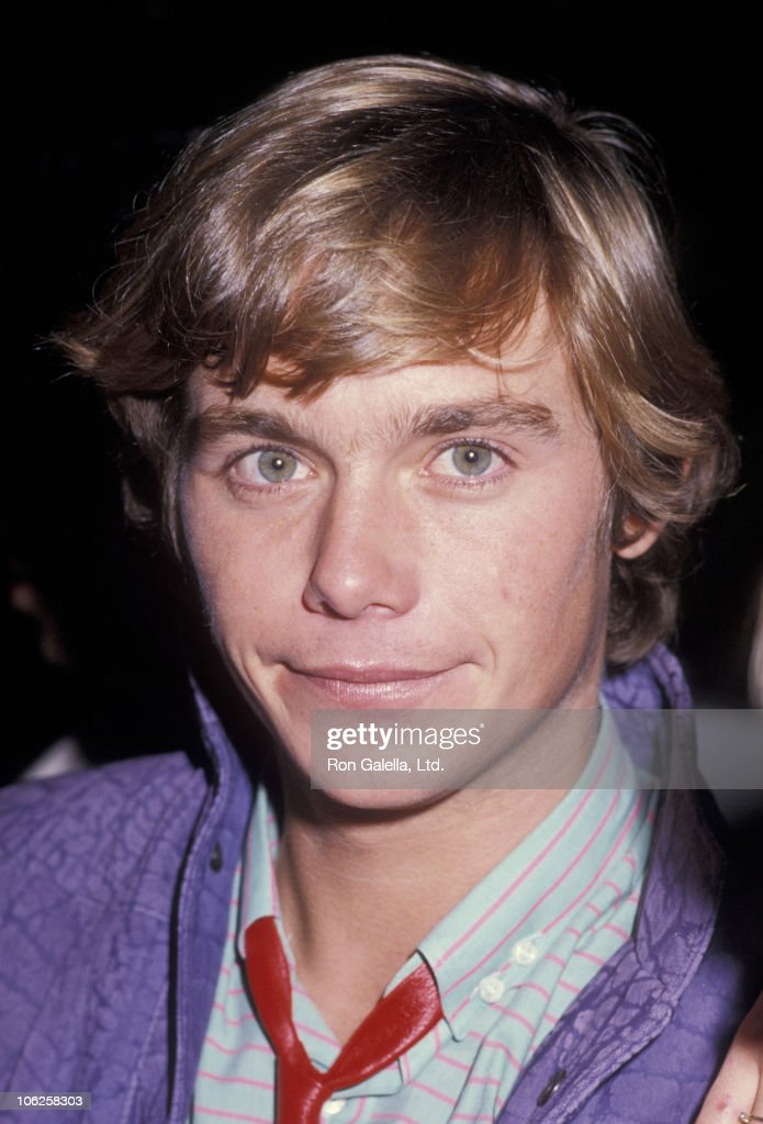 Christopher Atkins Sighting at Spago Restaurant - December 12, 1984 : News Photo