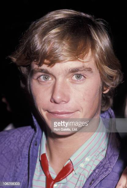 Christopher Atkins during Christopher Atkins Sighting at Spago Restaurant December 12 1984 at Spago in West Hollywood California United States
