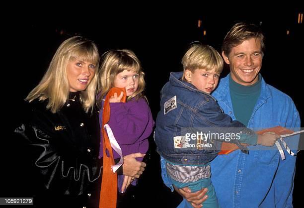 Christopher Atkins, Lyn Barron, Daughter Brittney Bomann, and Son Grant Bomann