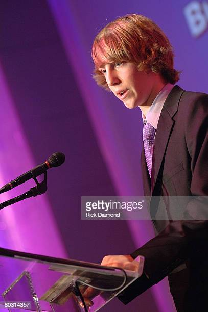 Christopher Bacharach accept The Lifetime Achievement Award presented by Recording Academy President and CEO Neil Portnow at The 50th Annual Grammy...