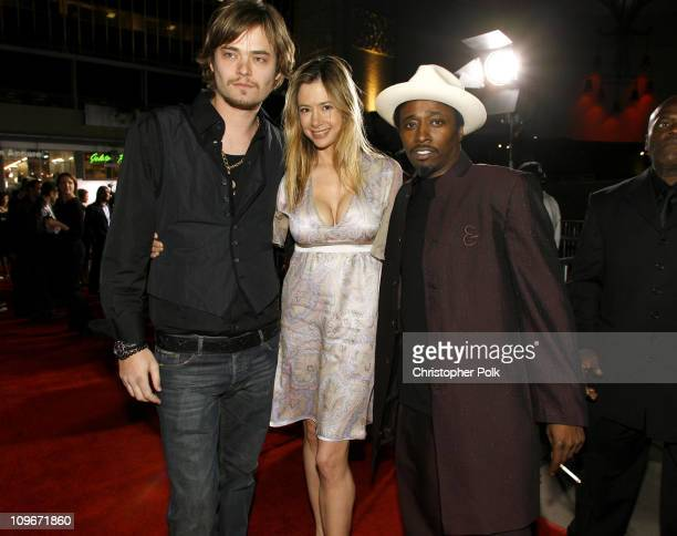 Christopher Backus Mira Sorvino and Eddie Griffin