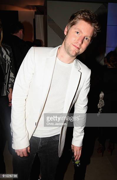 Christopher Bailey at the Afterparty for Burberry Prorsum Spring/Summer 2010 Show at Horseferry House during London Fashion Week on September 22 2009...