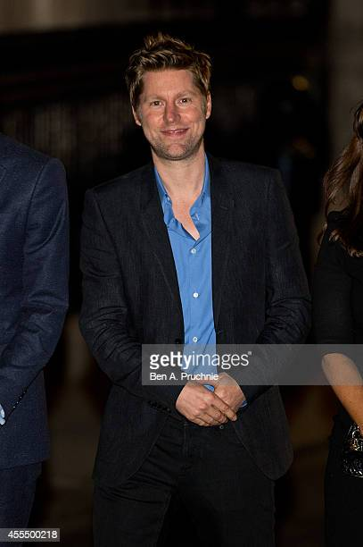 Christopher Bailey attends the Downing Street reception hosted by Samantha Cameron during London Fashion Week Spring Summer 2015 on September 15 2014...