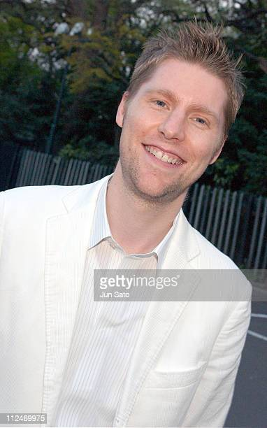 Christopher Bailey Creative Director Burberry at the Burberry Prorsum Fall 2004