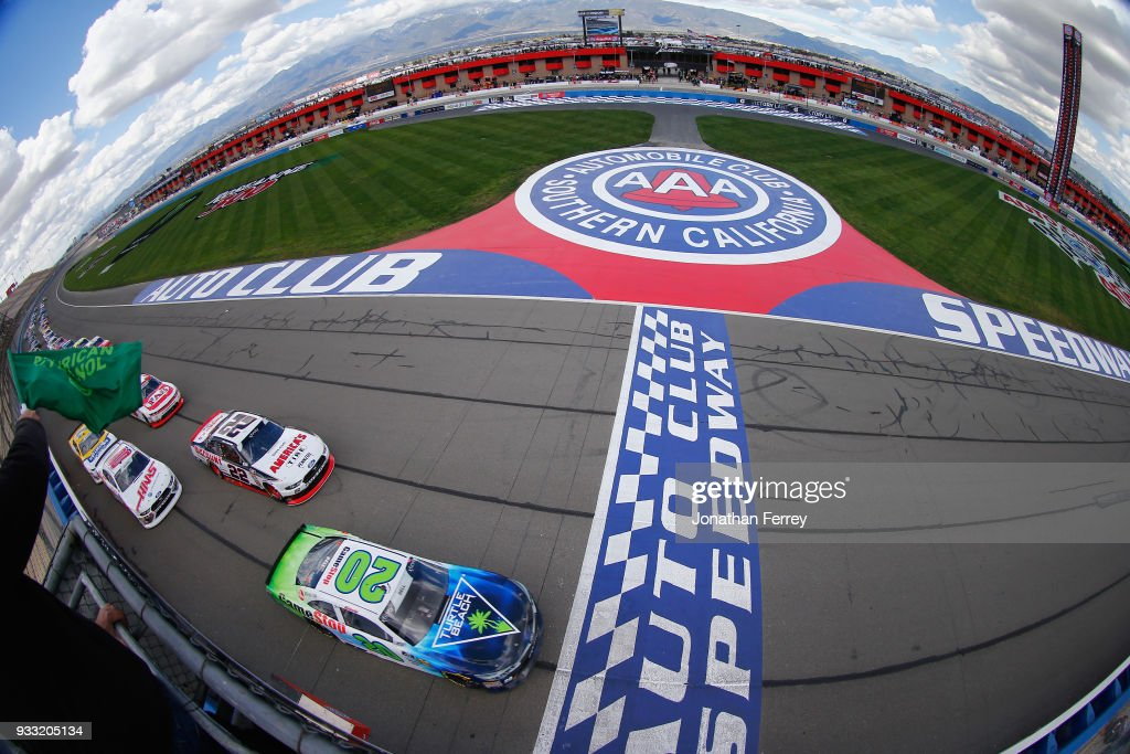 NASCAR Xfinity Series race at Auto Club